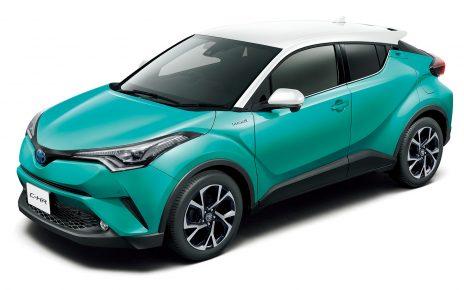 トヨタC-HRフロント