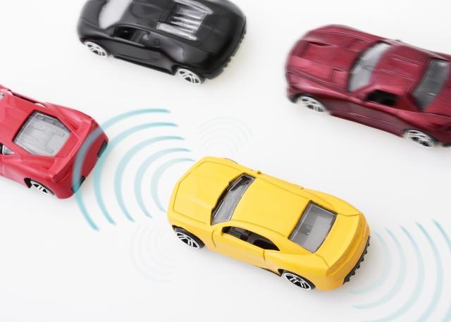 事故防止 ドライブアシスト・自動運転のイメージ