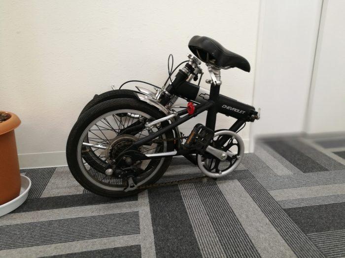 カーシェアで使用する折りたたみ自転車