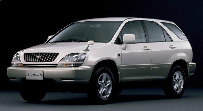 1997年登場 初代トヨタ ハリアー