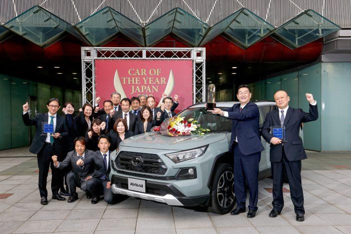 日本カーオブザイヤー 2019-2020 トヨタRAV4