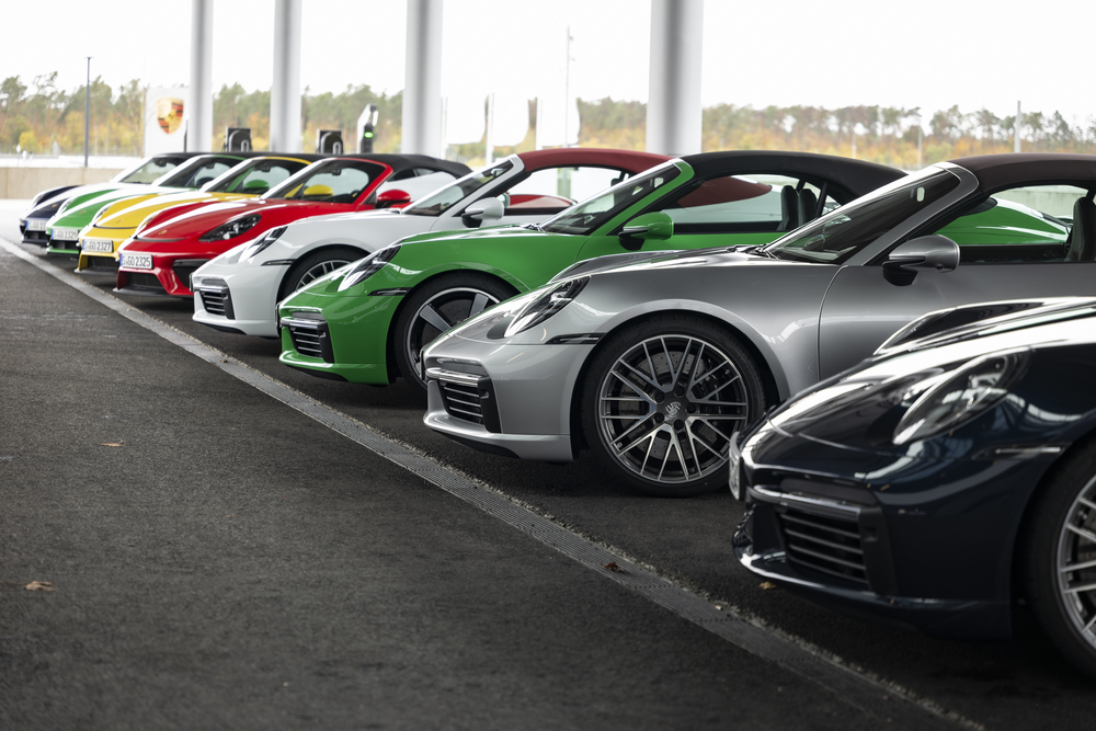Group shots - 911 Turbo Models